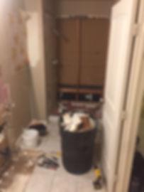 during demo of master bathroom demo-5