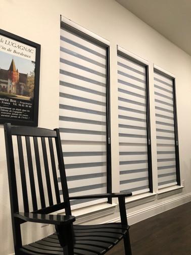 upated window treatments