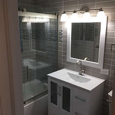 completed bathroom 9