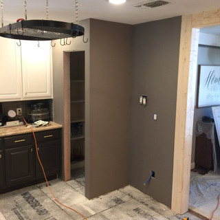 build out of pantry