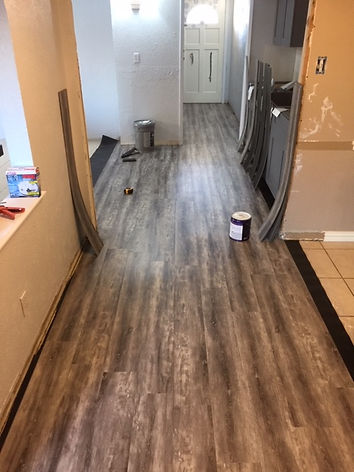 whole house flooring remodel
