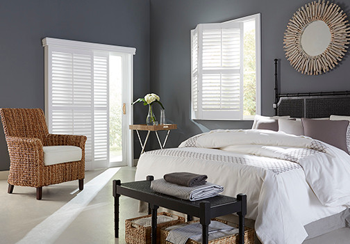 Matching both form and function in the perfect window treatments.