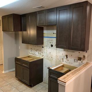 new kitchen cabinets installation