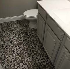 completed bathroom 17