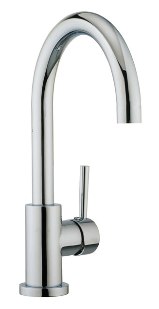 Single hole bathroom faucet examples (5)