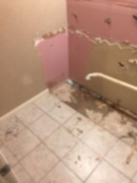 during demo of master bathroom demo-6