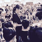 Julie Nguyen. Teaching from LOVE.