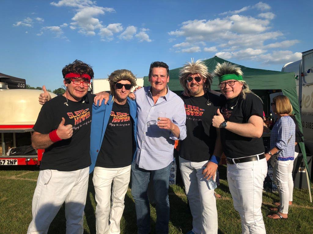 SH with Tony Hadley