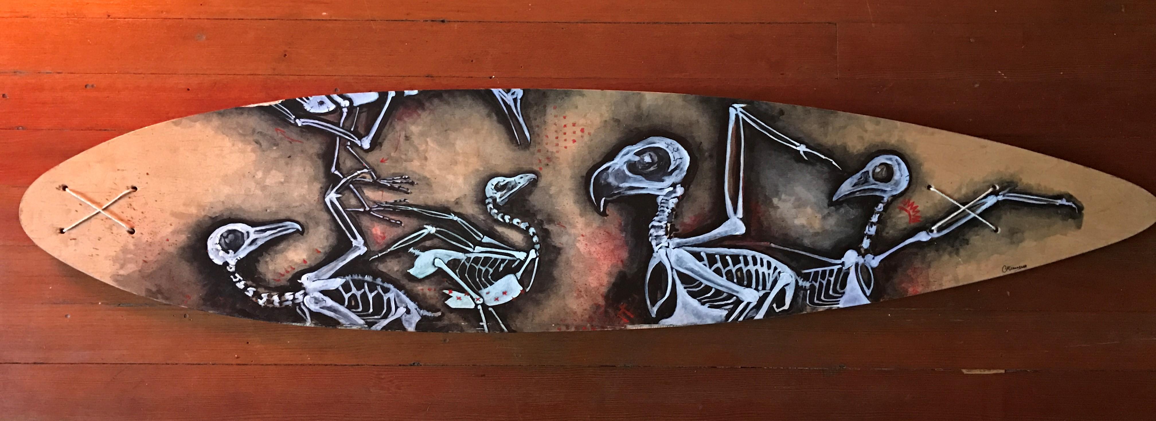 Les Oiseaux Longboard