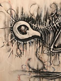Timekeeper - Acrylic on Canvas