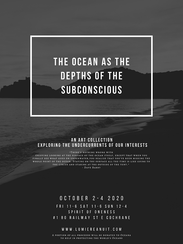 the ocean as the depths of the subconsci
