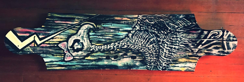 Oiseau Femme Longboard