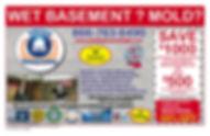 Basement Waterproofing Coupon