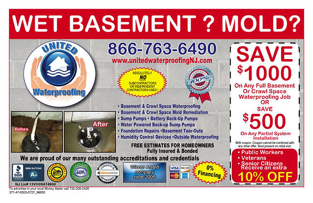 Basement Waterproofing Coupon