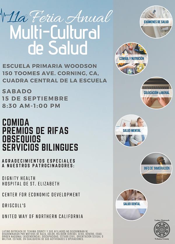 Spanish Multi-Cultural Health Fair 2018.