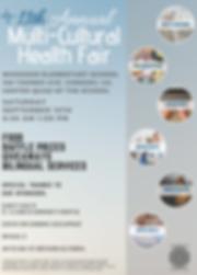 English Multi-Cultural Health Fair 2018.