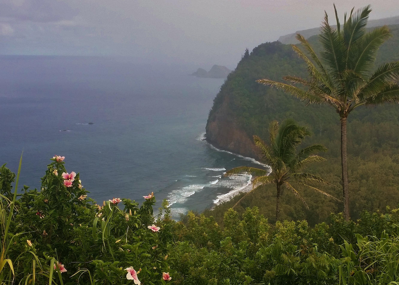 Pololu Valley volcano mountain retreat b&b big island hawaii