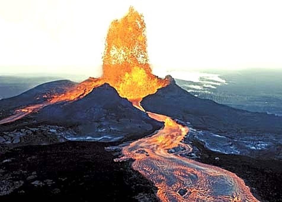 Pu'u O'o volcano mountain retreat b&b big island hawaii