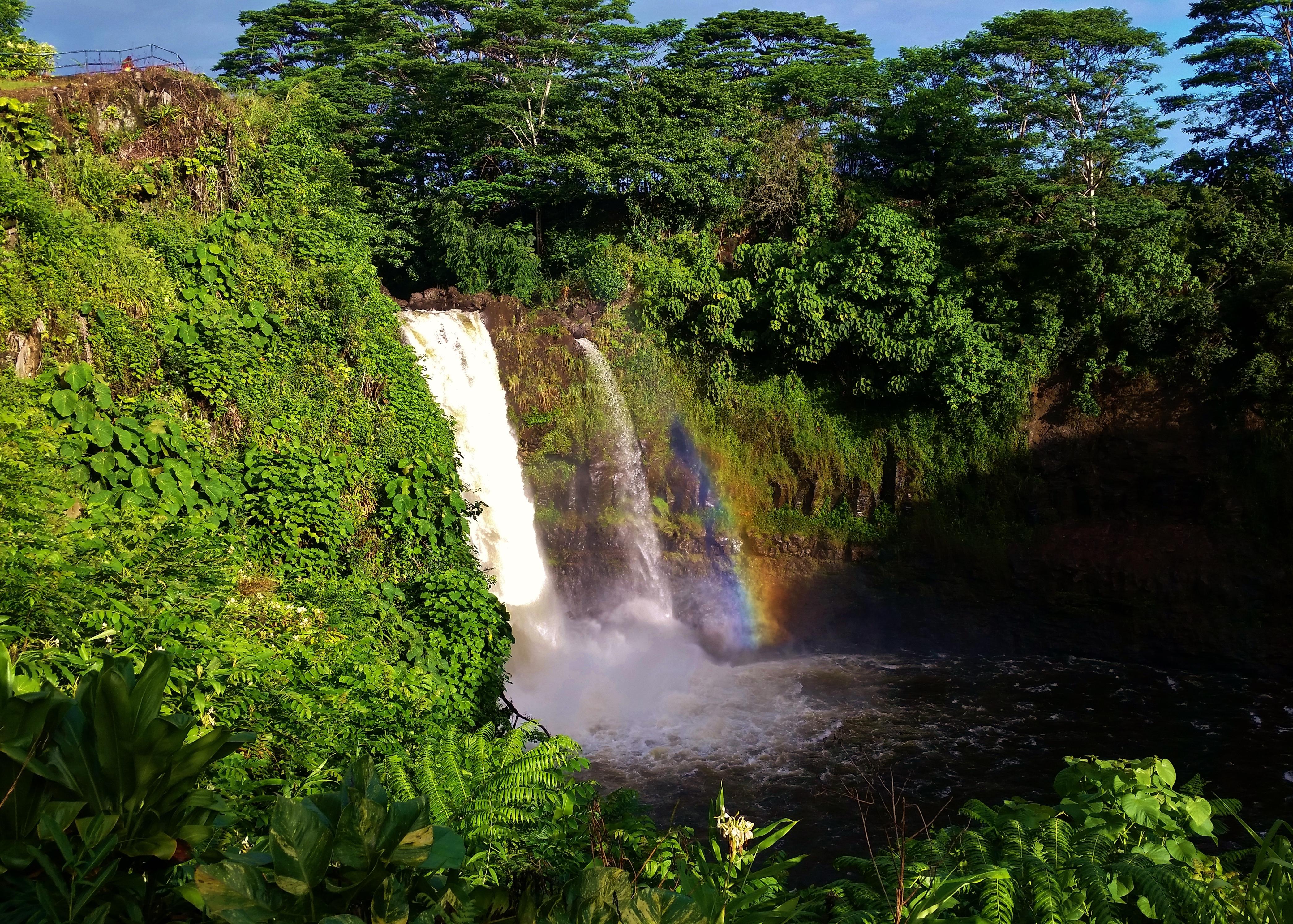 Rainbow Falls 2 volcano mountain retreat b&b big island hawaii