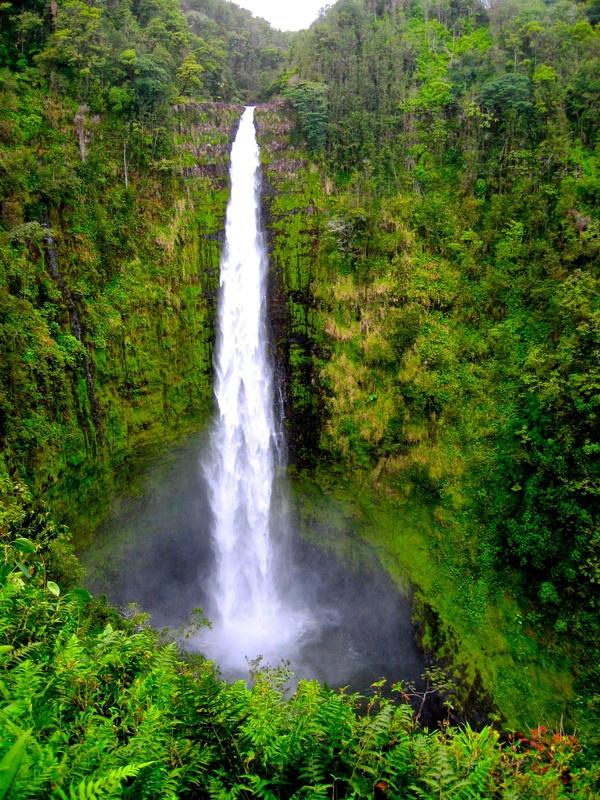 Akaka Falls volcano mountain retreat b&b big island hawaii