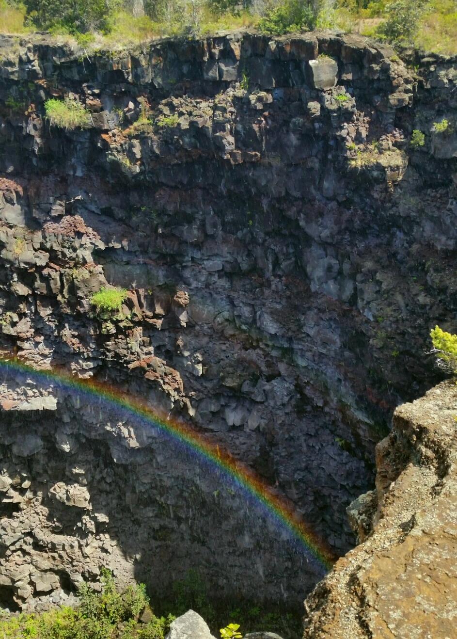 Chain of Craters - Devil's Throat volcano mountain retreat b&b big island hawaii