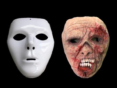 ダイソーの100円マスク&粘土でwalking Deadの様なゾンビマスクを作ってみました!