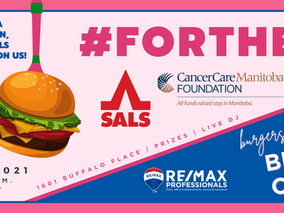 It's Back! Burgers for Breast Cancer 2021: #ForTheNip