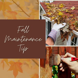 Sept 8 - Fall Maintenance Tip