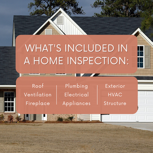 Sept 13 - What's included in a home inspection?