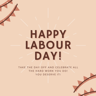 Sept 6 - Labour Day