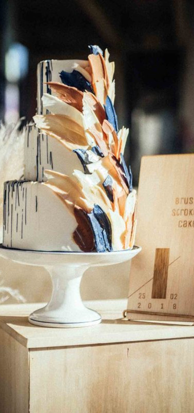Brustroke cake