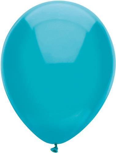 Ballonnen Uni Teal 10st. 30cm