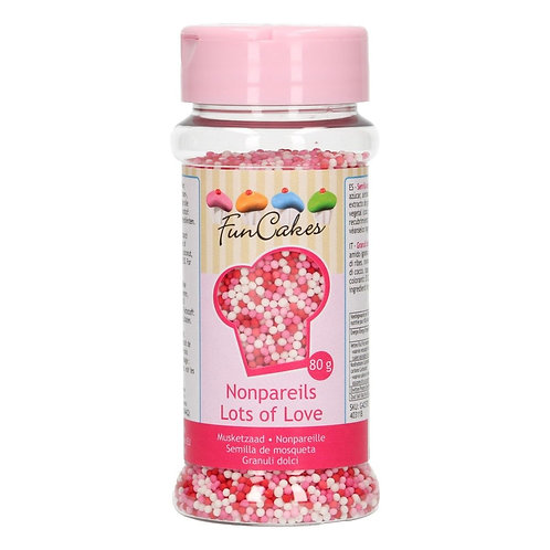 FunCakes Musketzaad - Lots of Love 80g