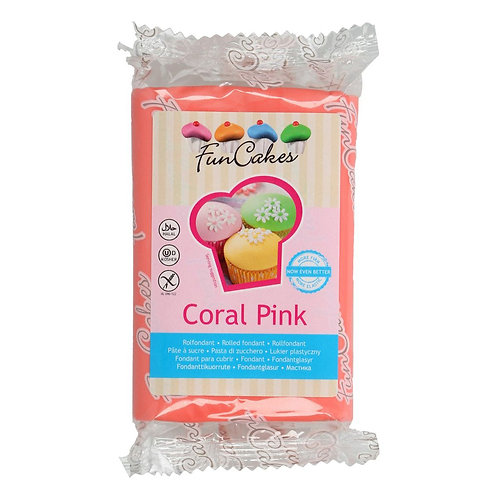 FunCakes Rolfondant - Coral Pink 250g