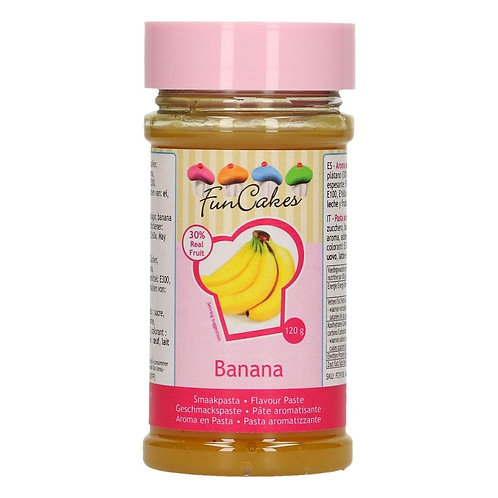 FunCakes Smaakpasta  Banaan - 120g