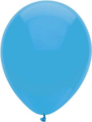 BallonnenUni Licht Blauw 10st. 30 cm