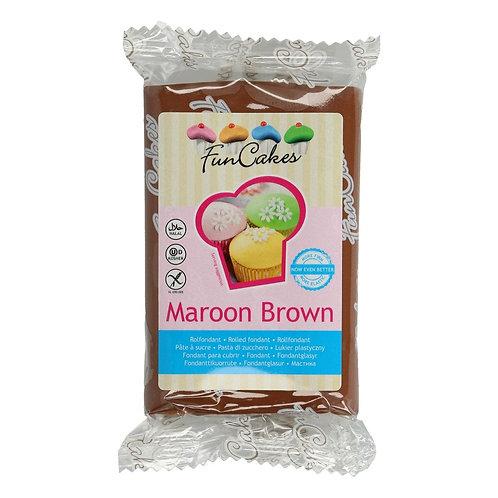 FunCakes Rolfondant - Maroon Brown 250g