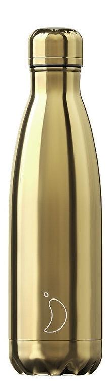 Chilly's Bottles - Gold 500ml