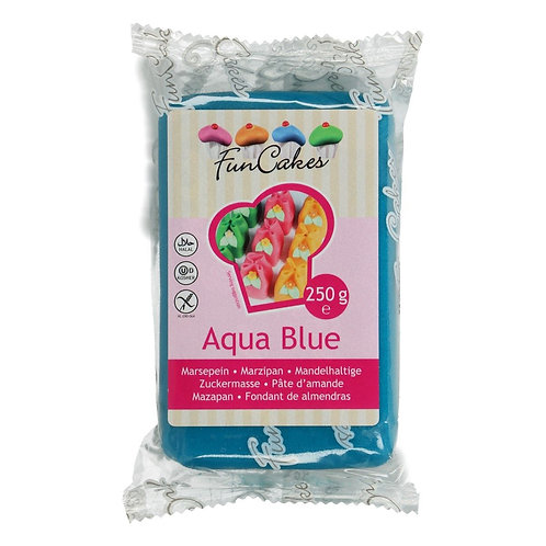 FunCakes Marsepein - Aqua Blue 250g