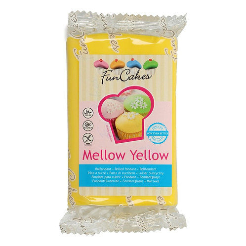 FunCakes Rolfondant - Mellow Yellow 250g