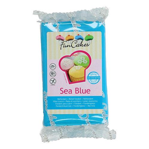 FunCakes Rolfondant - Sea Blue 250g