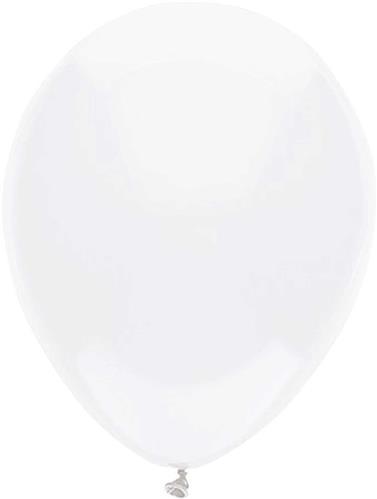 Ballonnen Uni Wit 10st. 30cm