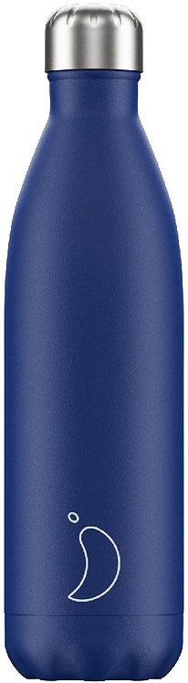 Chilly's Bottles - Matte Blue 750ml