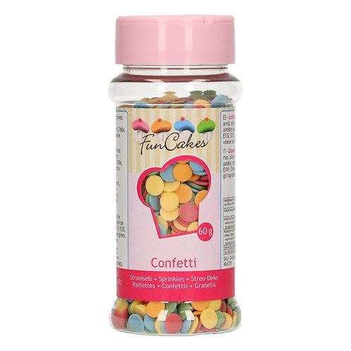 FunCakes - Confetti 6mm Mix 60g