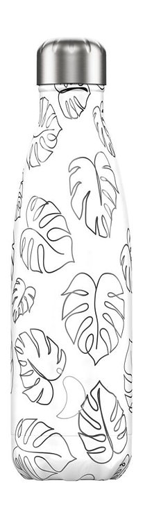Chilly's Bottles - Leaves Line Art 500ml