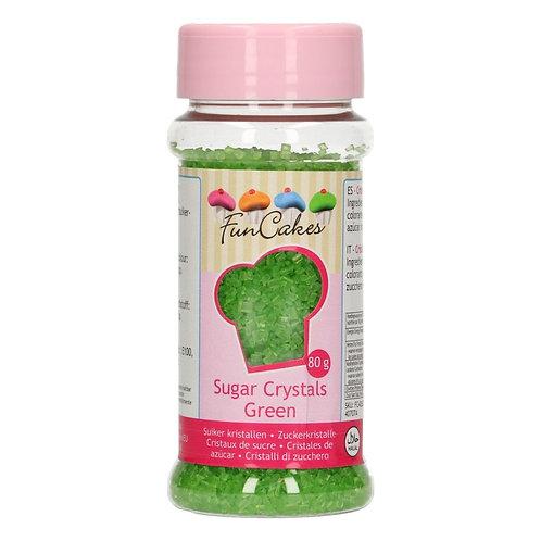FunCakes Gekleurde Suiker - Groen 80g