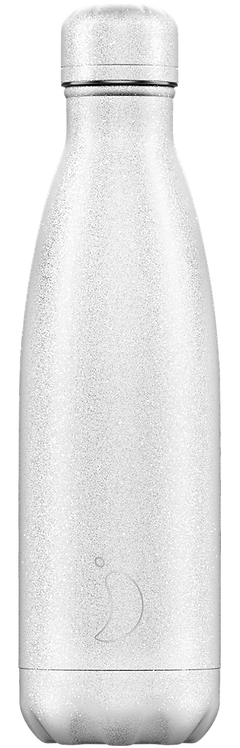 Chilly's Bottles - Glitter White 500ml