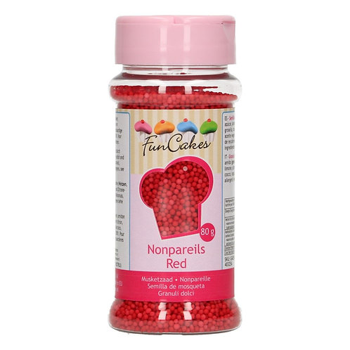 FunCakes Musketzaad - Rood 80g