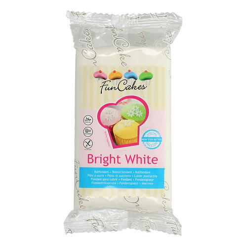 FunCakes Rolfondant - Bright White 250g