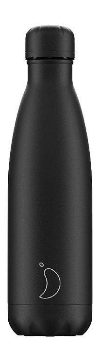 Chilly's Bottles - All Black | 500ml | 750ml |